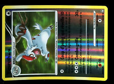 Pokemon mysterious treasures holo vigoroth inv # 68/123