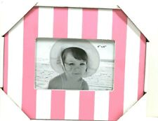 Picture Frame 4x6 Girls Pink & White Frames
