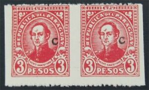 nystamps Paraguay  Stamp Mint Imperf Error       S17x888