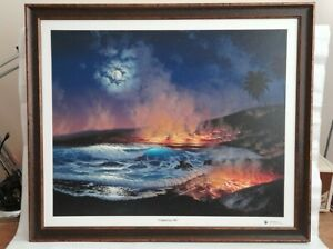 Walfrido Garcia 'Creating Life' 2009 Limited Edition 58/500 Giclee on canvass