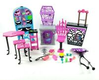 Lot of Monster High Doll Furniture & Accessories Mattel