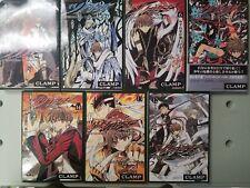 "CLAMP ""TSUBASA"" RESERVoir CHRoNiCLE Shonen Magazine Comics Lot of 7 Manga"