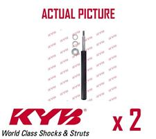 2 x FRONT AXLE SHOCK ABSORBERS PAIR STRUTS SHOCKERS KYB OE QUALITY 665030