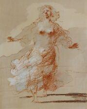 Claude WEISBUCH :  Femme dénudée - LITHOGRAPHIE originale #1984 + certificat