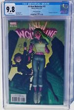 All-New Wolverine #13 Adams Champion Viv Vision variant CGC 9.8 White