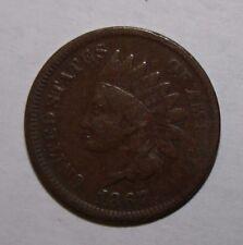 1867 Indian Head Cent MC37
