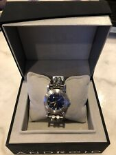 "RARE,UNIQUE Men's Watch ANDROID ""Hydraumatic"" Blue Face Stainless NIB"