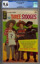 THREE STOOGES #34 - CGC 9.6 - THE MARK OF ZERO! - PHOTO COVER - 2021063009