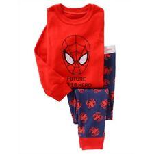 Kids boy Spiderman Pajama Set Size 6T Boys Role-playing clothes birthday present