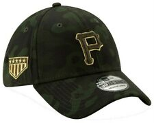 New Era 2019 MLB Pittsburgh Pirates Hat Cap Armed Forces Day 39Thirty (L/XL)