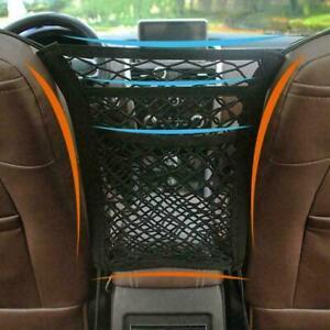 Universal Elastic Mesh Net Bag Car Seat Organizer Luggage Storage Pocket Holders
