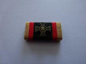 (S1-143) Bundeswehr Ehrenkreuz bronze Bandspange Ordensspange
