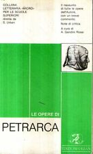 MU24 Le opere di Petrarca Ed Urban 1983
