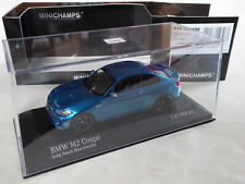 Minichamps 1/43 BMW M2 Coupe F87 2er Serie 2 Series OVP 410 026100 M3> BBS UMBAU
