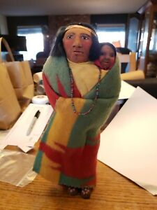 Skookum Doll With Child Papoose