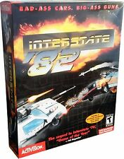 Interstate '82 for PC Large Retail Box Mint in Sealed Box MISB! NEW!!