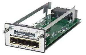 Brand New (open box) Cisco C3KX-NM-1G Network Module for Catalyst 3560X / 3750X