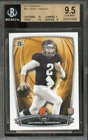 2014 bowman #r9 JOHNNY MANZIEL browns rookie card BGS 9.5 (10 9 9.5 10)