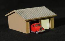 VOLUNTEER FIRE STATION - N-106 - Easy to build N Scale kit by Randy Brown