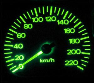 Green LED Dash Gauge Light Kit - Suit Toyota Hilux Surf 1988-1998