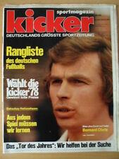 KICKER 104/105 -27.12. 1978 Bernard Dietz Rangliste Eishockey Tor des Jahres