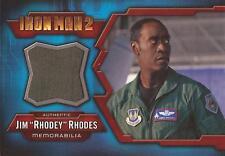 "Iron Man 2 - IMC-10 Don Cheadle ""Jim 'Rhodey' Rhodes"" Costume Card"