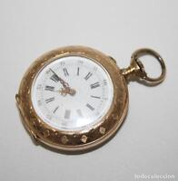 RE162 MONTRE À GOUSSET J. LE COULTRE. OR 18K. FONCTIONNE. PRINC. XXe S.