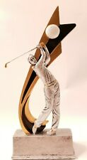 """NEW Golf Resin Award Trophy 8""""  FREE Engraving, FREE SHIPPING Golfer Hole In One"""