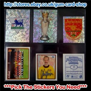 MERLIN PREMIER LEAGUE 2001-2002 (1 TO 99) *SELECT THE STICKERS YOU NEED*