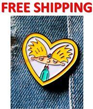 Nickelodeon Hey Arnold Pin Helga's Arnold Locket Pin Hey Arnold Love
