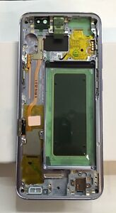 Genuine Samsung S8 (G950F) LCD Assembly + Frame Voilet / Orchid Grey GH97-20457C