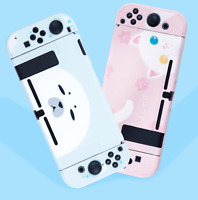 Kawaii Cat Pink Hard Case Cover Shell for Nintendo Switch Console Jon-Cons NS