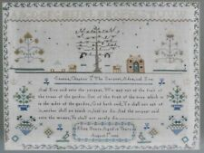 Early 19th Century English Sampler Eliza Bearn 1832 With Historical Provenance