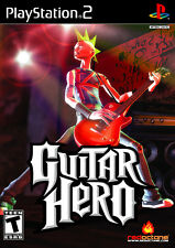 Guitar Hero PS2 Playstation 2 Game Complete