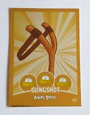 Angry Birds Slingshot Card. Number 177. Good Condition