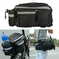 Bicycle Rear Rack Pack Tail Top Bag Seat Storage Bike/Cycle Commuter AU