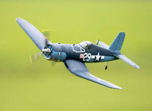 """H-King (PNF) Chance Vought F4U Corsair 750mm (30"""") w/6 Axis ORX Flight Stabilize"""