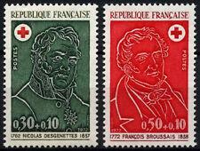 France 1972 SG#1979-80 Red Cross Fund MNH Set #D43352