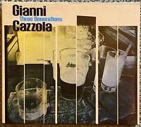 Gianni Cazzola - Three Generations CD Digipack (Mint) Jazz Bebop