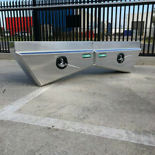 2 x 900mm Tapered Under Tray Toolbox (Pair) - Alloy