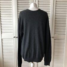 138cf176 Zara Man Knit Grey Angora Blend Crew Neck Thin Knit Jumper Size L Smart Work