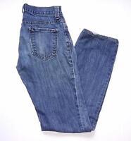 Banana Republic Womens Jeans Size 4 Blue Straight Leg Denim Pants