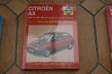 haynes manual citroen ax 1987-1997  petrol + diesel