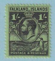 FALKLAND ISLANDS SG 122a LINE PERF  MINT HINGED OG * NO FAULTS EXTRA FINE !