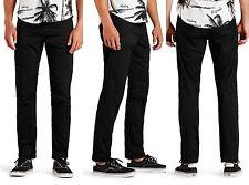 New Mens JACK & JONES Black Chinos Anti Fit Fashion Jeans Sale Waist Size 30-36
