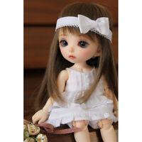 1/8 BJD Dolls Petite Fille Luna 15 cm Résine Poupées + Yeux + Visage Maquillage