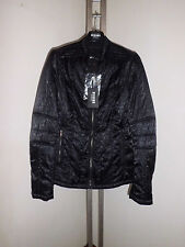 Versus Versace Men's Lion Print Bomber Jacket  Black  size 46