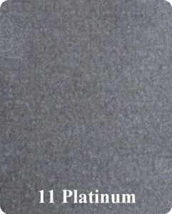 6 Foot Wide 20 oz Bass Boat Marine Carpet 6'x10' Piece of Carpet Platinum