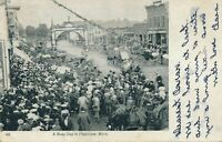 PLAINVIEW MN - A Busy Day in Plainview - udb (pre 1908)