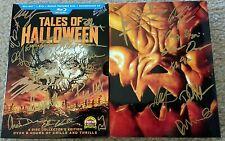LTD ED Tales Of Halloween Blu Ray Box Set SIGNED! Directors/Actors w/PROMO SHIRT